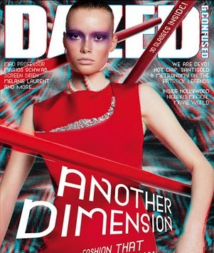 GRAZIA LEADS THE WAY WITH 'AUGMENTED REALITY' 3D ISSUE