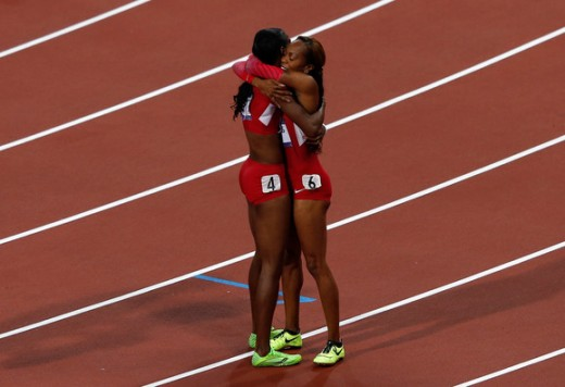 THE FASHLYMPICS: SANYA RICHARDS ROSS AND DEE DEE TROTTER