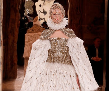 THREE'S A TREND: HISTORICAL PAINTINGS AT MCQUEEN, CELINE AND VALENTINO