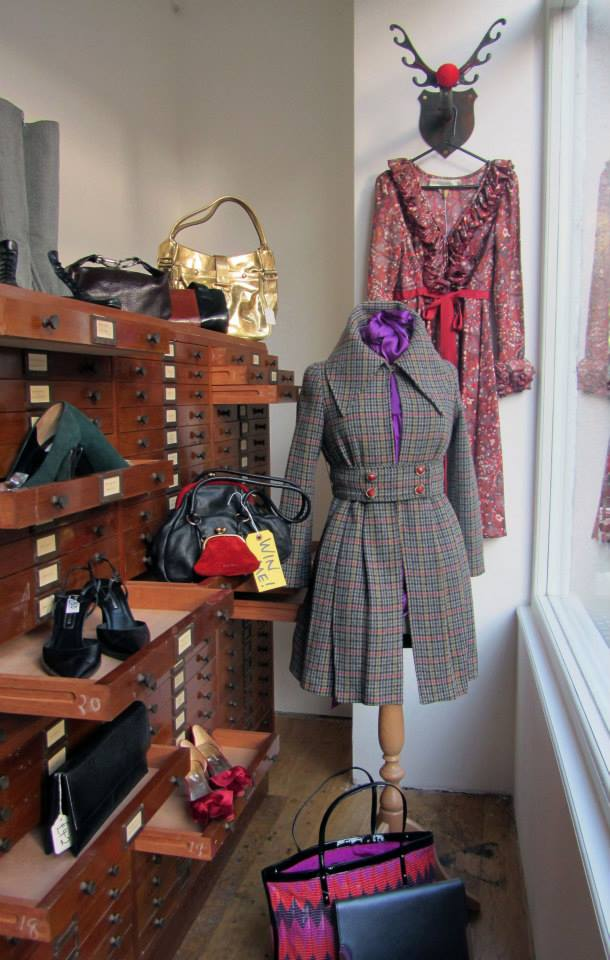Abi's Designer Jumble Pop Up at Lambs Conduit Street, photographed by Chantal Murray, styled by Isabelle Bricknall