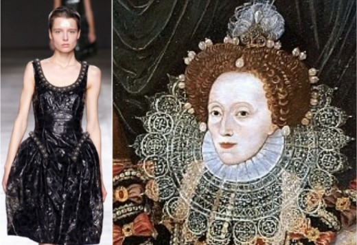 dressing up as queen elizabeth I will be a thing for AW14