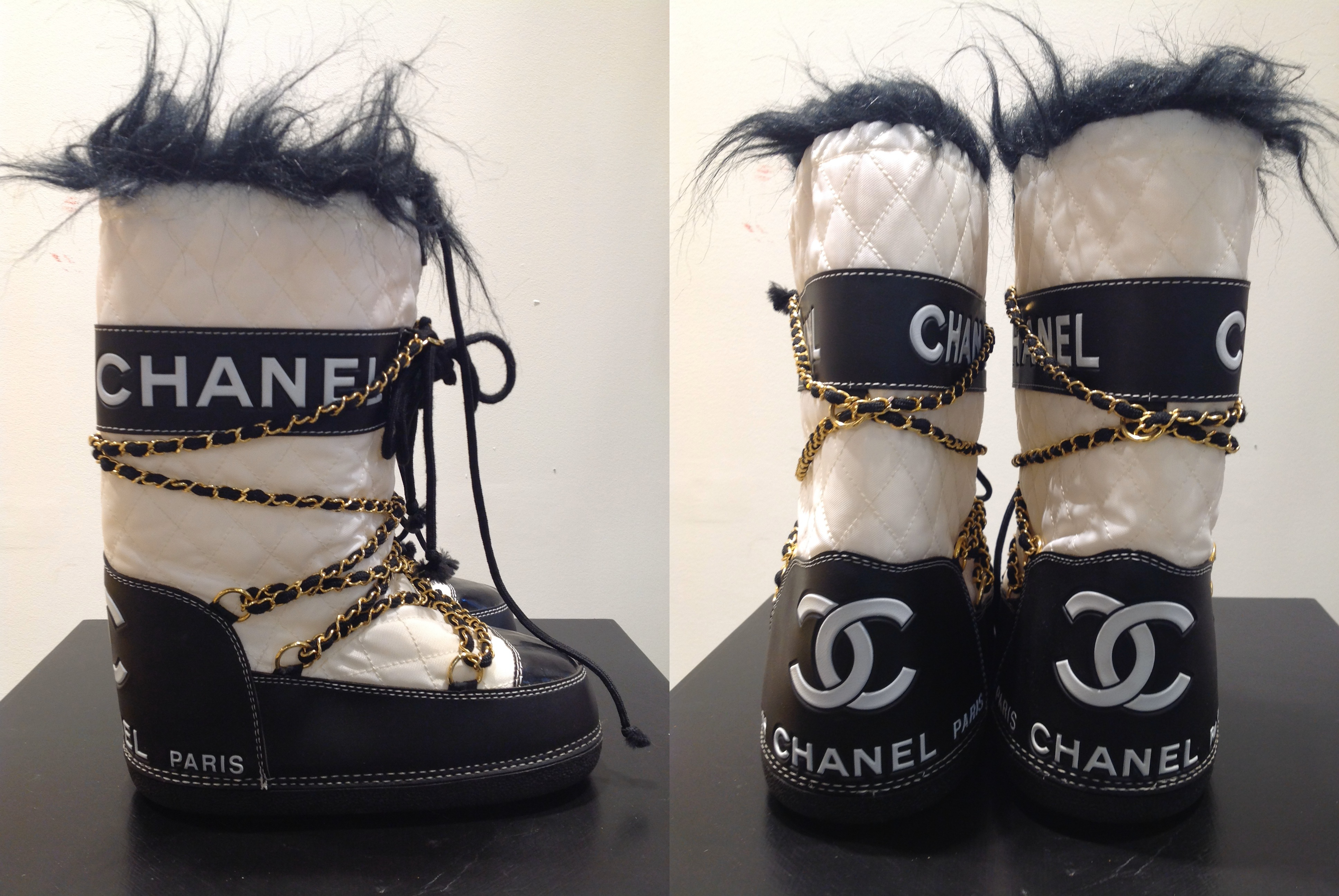 Hanna's Chanel Moonboots