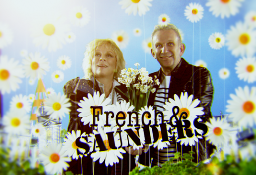 LATEST: JENNIFER SAUNDERS TEAMS UP WITH JEAN-PAUL GAULTIER FOR HILAIR VIDEO