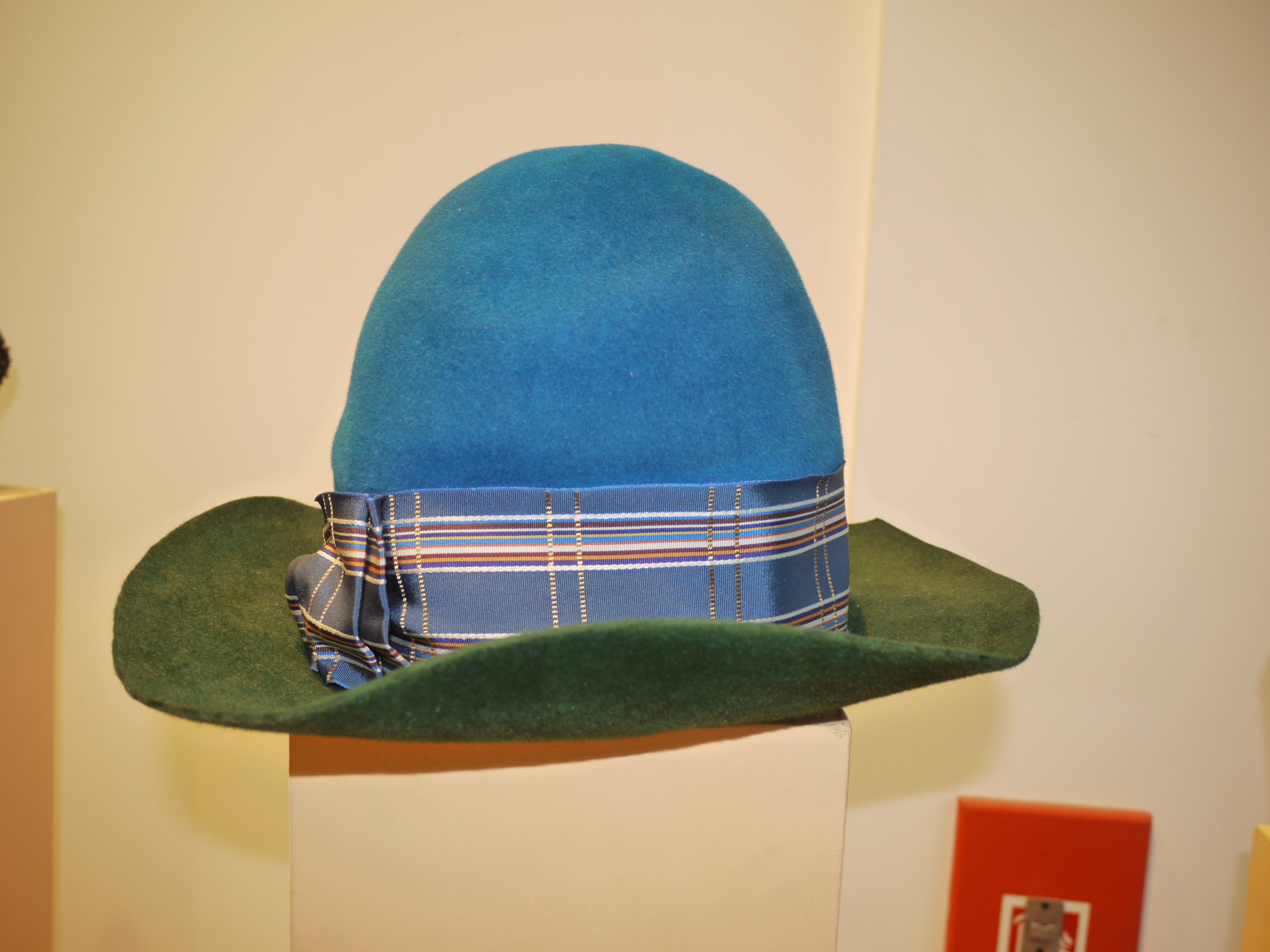 A Vivienne Westwood early 80s hat. Pharrell much?