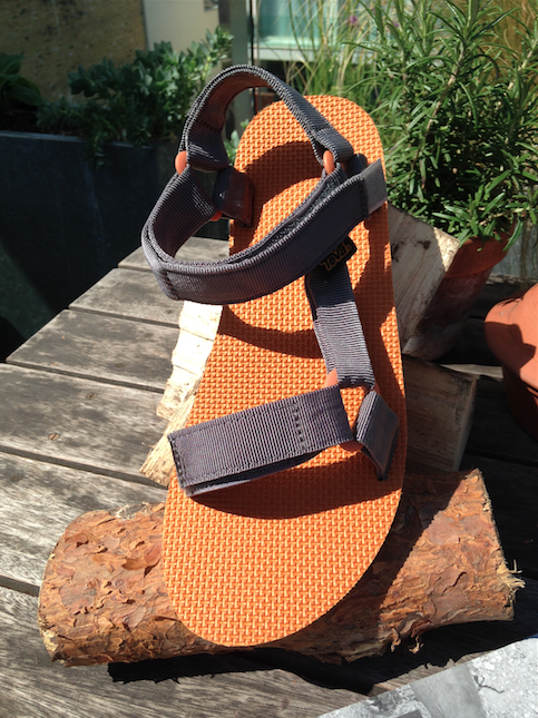 Teva Original Universal Sandals at the Press Day