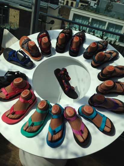 Teva Original Sandals at the Press Day