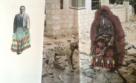 Tracey Lewis' Sketches with Photography which inspired her designs
