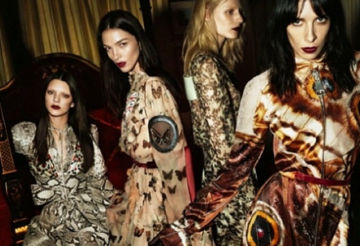 RAVE AW14 WITH GIVENCHY & KENDALL JENNER (WHITE GLOVES OPTIONAL)