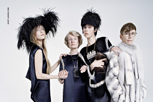 Lanvin and Edie keep in the family for AW14 ads