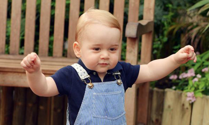 Prince George's birthday = excuse to show off £2,480 Miu Miu dungarees