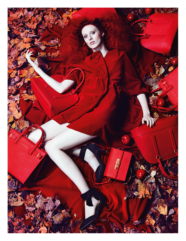 Karen Elson for Kurt Geiger