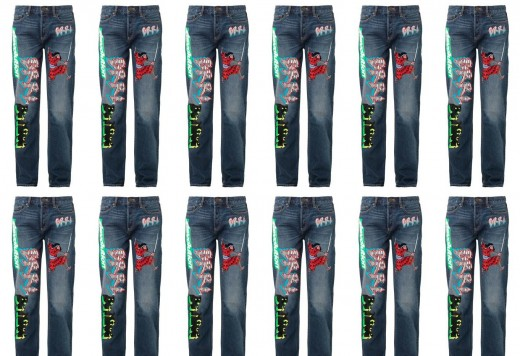 Obsession: MBMJ Motocross-patch Jeans