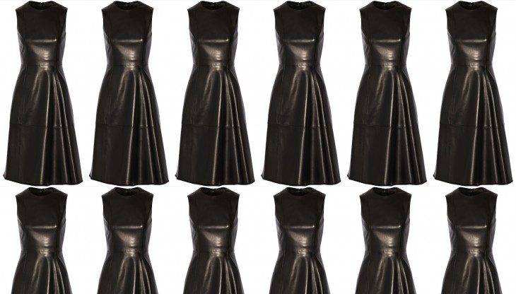 Obsession: The Row leather dress