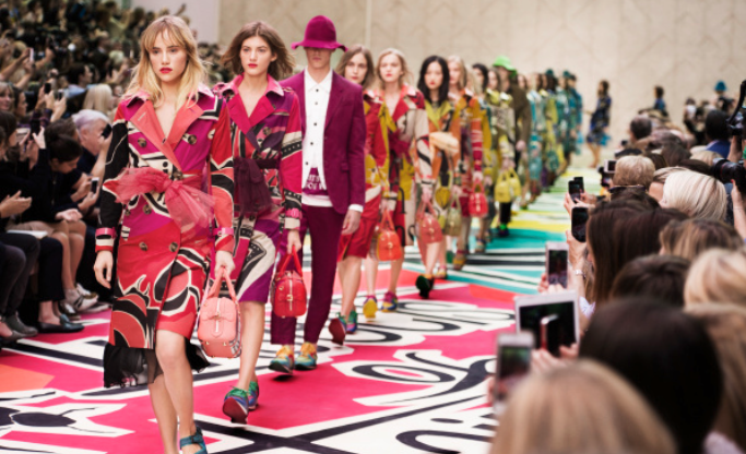 Burberry SS15 is ready to shop now