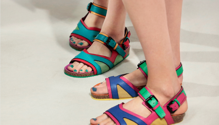Proof the Ugly Chic Sandal will reign into SS15