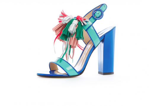 VOGUE Fashion Fund Finalist Paul Andrew shows us his SS15 shoes